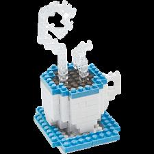 3D Pixel Puzzle - Coffee -