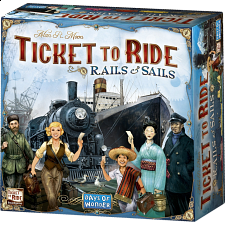 Ticket to Ride: Rails & Sails -