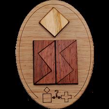 Minipuzzle - Schweizer Kreuz -
