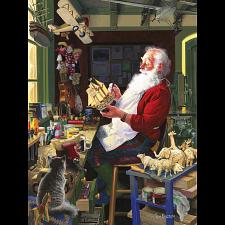 Santa's Workbench - Large Piece -