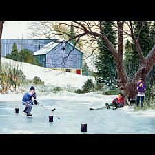 Hockey Drills - Large Piece -