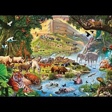 Noah's Ark, Before The Rain - Large Piece Family Puzzle -