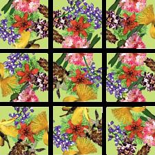 Scramble Squares - American Native Flowers -