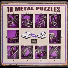 10 Metal Puzzle Set - Purple -