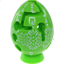 Smart Egg Labyrinth Puzzle - Easter Green -