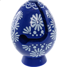 Smart Egg Labyrinth Puzzle - Easter Blue -