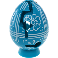 Smart Egg Labyrinth Puzzle - Easter Aqua -
