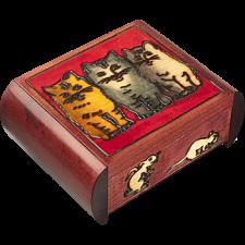 Three Cats - Secret Box -