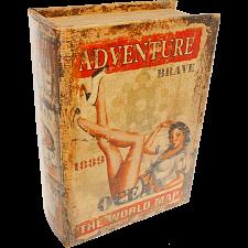 Adventure Book - Safe Box -