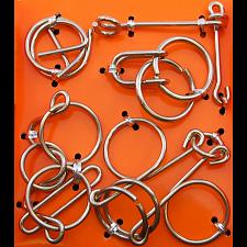 Hanayama Wire Puzzle Set - Orange -