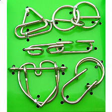 Hanayama Wire Puzzle Set - Green -