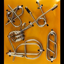 Hanayama Wire Puzzle Set - Yellow -