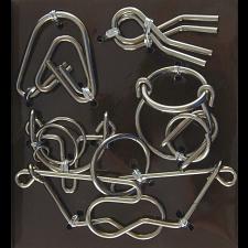 Hanayama Wire Puzzle Set - Brown -