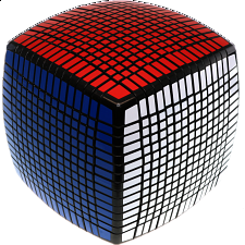 15x15x15 Pillow-shaped Cube - Black Body -