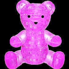 3D Crystal Puzzle - Teddy Bear (Pink) -