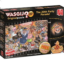 Wasgij Original #27: The 20th Party Parade - 2 x 1000 pc puzzles -