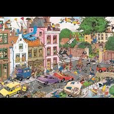 Jan van Haasteren Comic Puzzle - Friday the 13th -