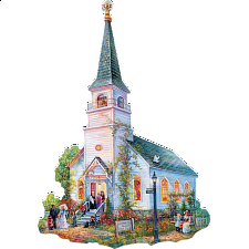 Saved By Grace - Shaped Jigsaw Puzzle -