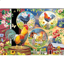 Rooster Magic - Large Piece -