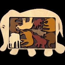 Constantin Puzzles: Elephant Parade -