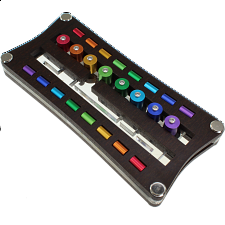 Nur 8 (Only 8) - Color Anodized -