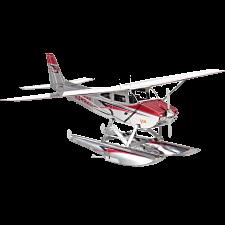 Metal Earth - Cessna 182 Floatplane -