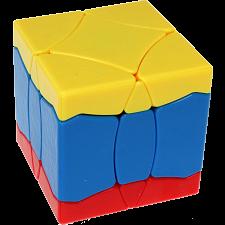 BaiNiaoChaoFeng Cube (Yellow-Blue-Red) - Stickerless -