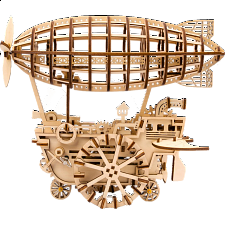 ROKR Wooden Mechanical Gears  - Air Vehicle -