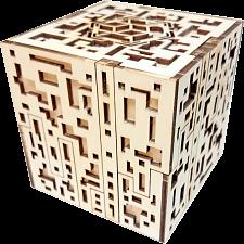 Silver City Kit - Wooden DIY Puzzle Box -