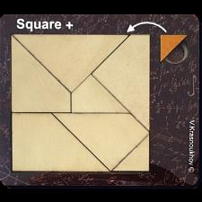 Square + - Krasnoukhov's Amazing Packing Problems -