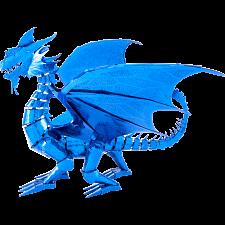 Metal Earth: Iconx 3D Metal Model Kit - Blue Dragon -