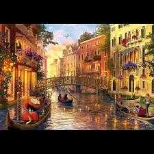 Sunset in Venice -
