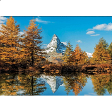 Matterhorn Mountain in Autumn -