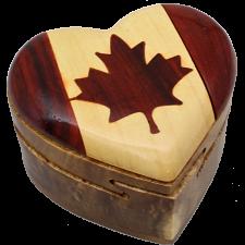 Canada Heart - 3D Puzzle Box -
