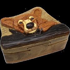 Bear Head - 3D Puzzle Box -