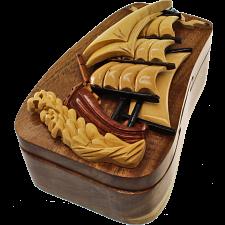 Tall Ship - 3D Puzzle Box -