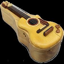 Guitar - 3D Puzzle Box -