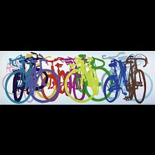 Bike Art: Colourful Row - Panorama -