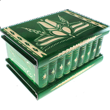 Romanian Puzzle Box - Extra Large Green -