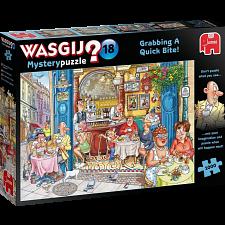 Wasgij Mystery #18: Grabbing A Quick Bite! -