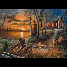 Fireside - Large Piece -
