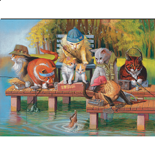 Fishing On The Dock -