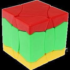 BaiNiaoChaoFeng Cube (Red-Green-Yellow) - Stickerless -