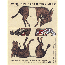 Puzzle of the Trick Mules -