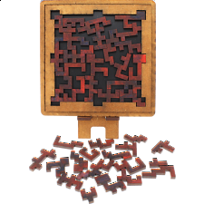 Maze - Wooden Packing Puzzle -