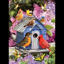 Spring Birdhouse -