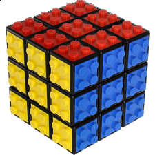 3x3 Building Block Cube with Tiles - Kit -