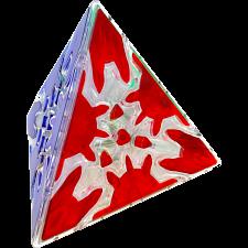 MoFangGe Timur Gear Halpern-Meier Tetrahedron - Ice Clear Body -