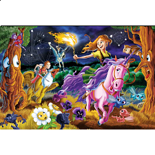 Mystical World - Family Pieces Puzzle -