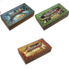 Constantin Puzzle Boxes - Set of 3 -